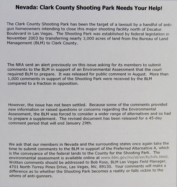 0201 Clark County Shooting Park