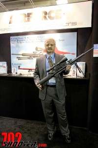 John McCaslin holds the Condor Air Rifle