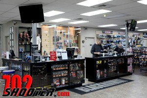 Front Counter of the Retail Shop