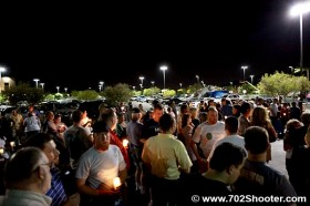 Erik Scott Candlelight Vigil