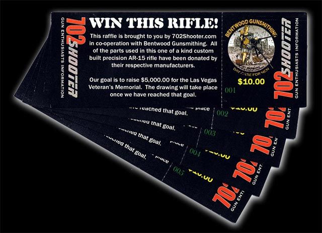 Precision Rifle Raffle Tickets