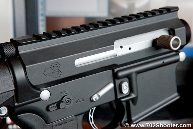 Lar Grizzly Ops 4 Ar 15 Side Charging Upper Receiver