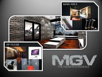 Machine Guns Vegas VIP Ultra Lounge Rendering
