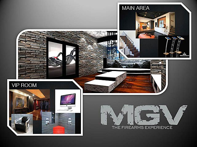 Machine Guns Vegas VIP Ultra Lounge Concept Rendering