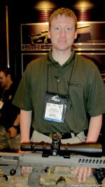 DTABenRomney 150x266 Desert Tactical Arms at 2012 Shot Show