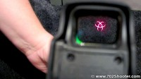 EOTech XPS2-Z Biohazard Reticle