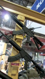 RRALAR 47Both 150x266 Rock River Arms LAR 47 & Lef T Rifles at 2012 Shot Show