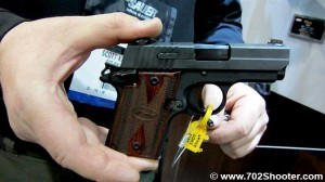SigSauerP938 300x168 Sig Sauer P938, P224, SBR Program, Sniper Rifles, & ACP at 2012 Shot Show
