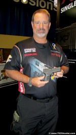 Springfield Armory Rob Leatham with the XDS