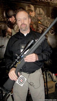 TeludyneTechAlanAdolphsen 200x355 Teludyne Tech Industries StraightJacket Barrel System at 2012 Shot Show