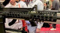 TroyIndustriesDeltaBR 200x112 Troy Industries Delta BattleRail, Squid Grip, & Suppressors at 2012 Shot Show