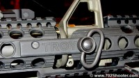 TroyIndustriesDeltaBR2 200x112 Troy Industries Delta BattleRail, Squid Grip, & Suppressors at 2012 Shot Show