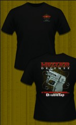 Heizer Defense Black DoubleTap T-Shirt