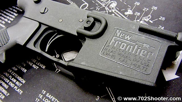 New Frontier Armory LW-15 Polymer Lower Receiver Review