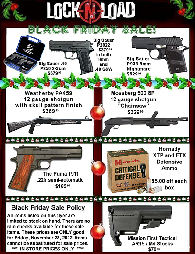 lnl 2012 Black Friday Deals