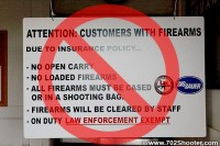 Previous sign not allowing open carry or loaded CCW