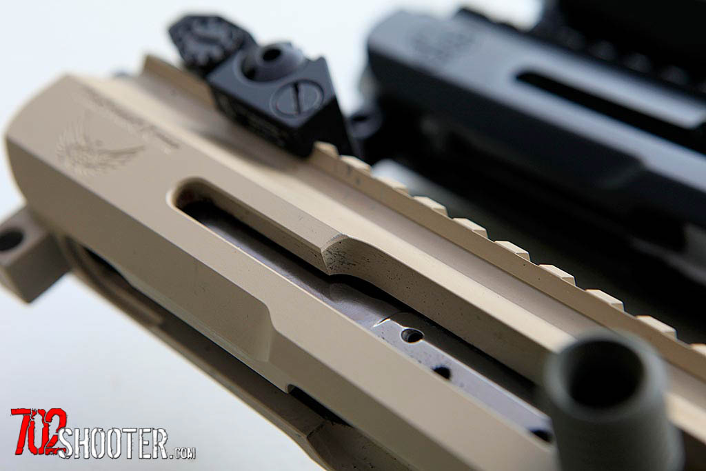 Blackwood Arms Side Charging Ar 15 Upper Receiver