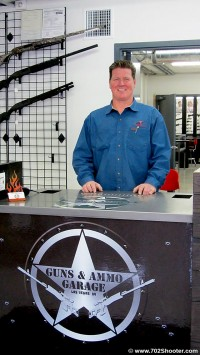 Mark Cole Guns & Ammo Garage Las Vegas